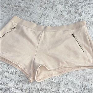 New Aerie Cream Comfortable Lounge Shorts